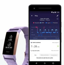 braccialetti fitness fitbit charge 3