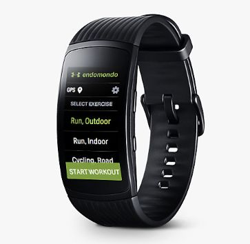 activity tracker samsung gear fit 2 pro