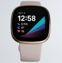 touch display fitbit sense