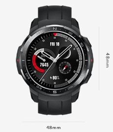 com'e il honor watch gs pro