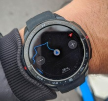 honor watch gs pro con mappe